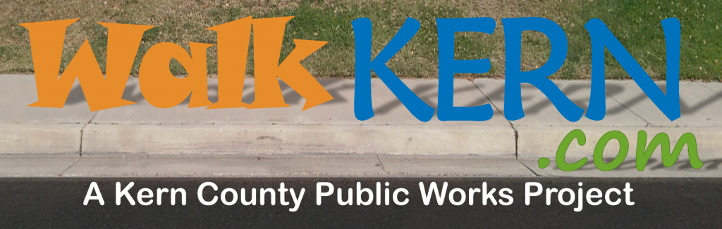 Walk Kern Sidewalk Banner Graphic